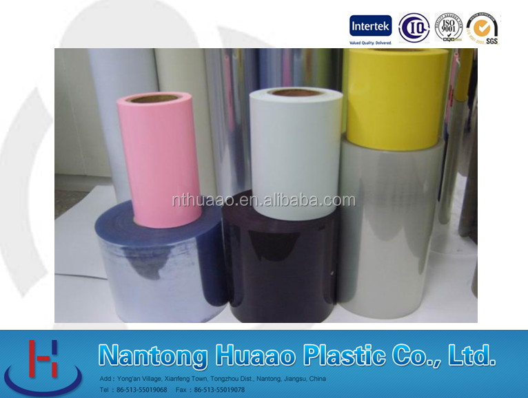 Opaque Surface Treatment and Floor Films Type Decorative rigid pvc film