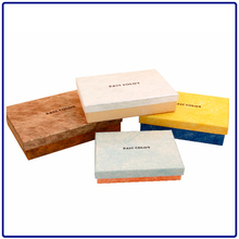 Eco-Friendly brown handmade soap gift paper box