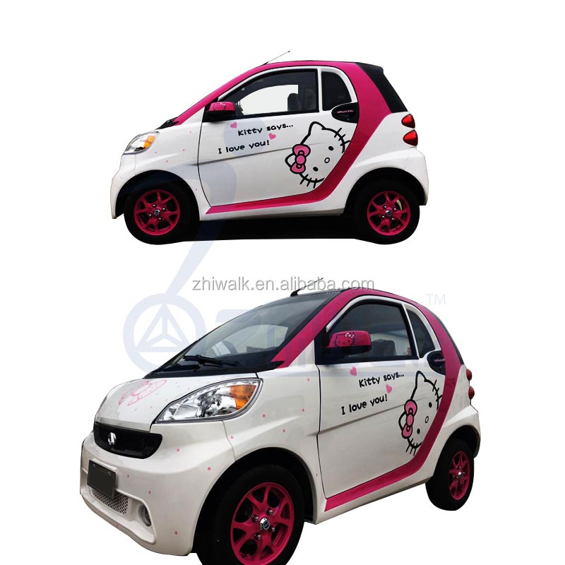 2 doors 2 seat SMART electric car/electric adult smart car/4 wheels electric small car