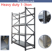 Heavy duty power stackable storage pallet rack