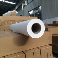 "Sticky Sublimation Transfer Paper Roll Size 24"" 36"" 50"" 64"" *100m"