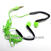 new super bass stereo fashion mp3 mobile phone sport earhook headphones china factory manufacturer