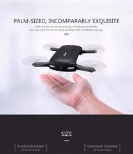 Outstanding quality JJRC Elfie H37 4CH 2.4G 6Axis 0.3MP wifi camera real-time transmission one key to return mini rc dobby drone