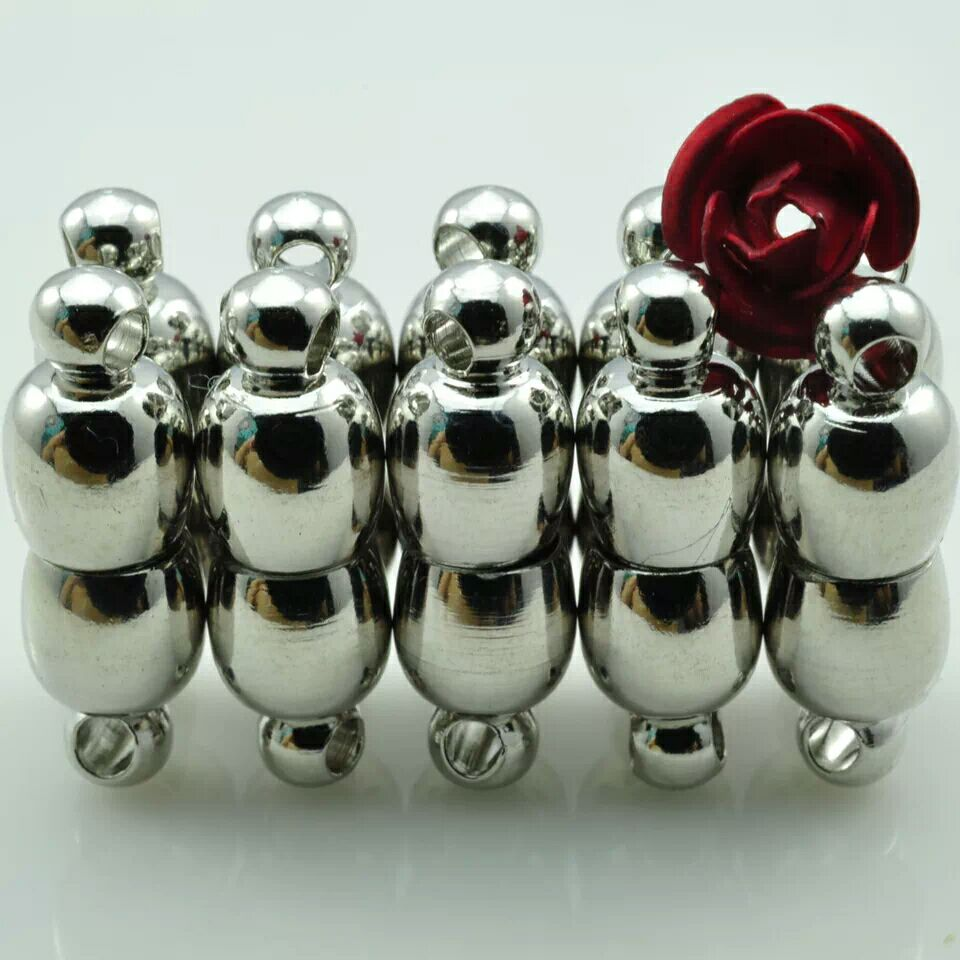 Hot sale lady fashion 10 sets DIY SP Semicircle magnetic clasps