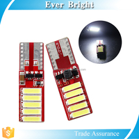 T10 base canbus auto bulbs, 7020 smd canbus car led lighting, led lamp for car