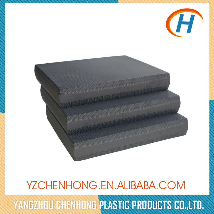 eco-friendly cheap starting oem gym/fitness Embossed balance pads exercises for stability