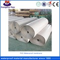 Suit Kinds Of Waterproof Projects Waterproof And Breathable PVC Roofing Membrane