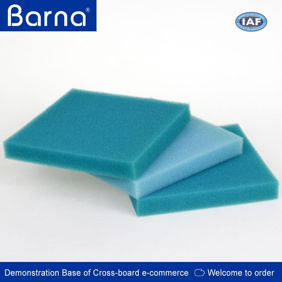 Good quality polyurethane filter foam ceramic filter for Pond filter sponge cheap