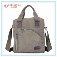 Oem fashion male canvas handbags