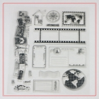high quality low price attractive stamps for scrapbooking
