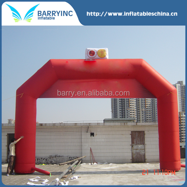 Customized advertising cheap inflatable arch tent for sale with logo printing