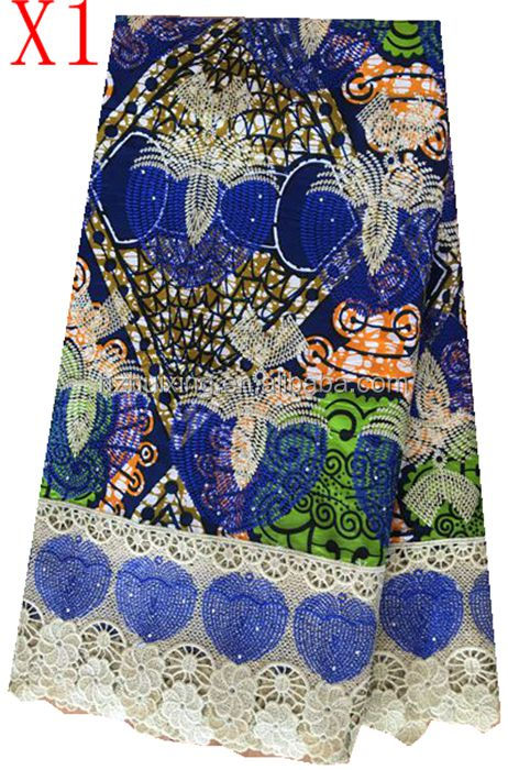 high quality 100% cotton wax prints voile lace fabric spandex african wax printed cotton fabric
