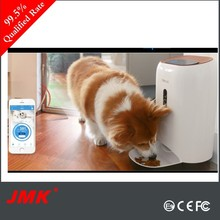 WIFI Camera android & IOS App Automatic controlled elevated pet feeder smart dog feeder