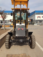 Mini rc wheel loader for sale 1.0ton ChangChai L28M engine advanced hydraulic system automatic leveling fuction