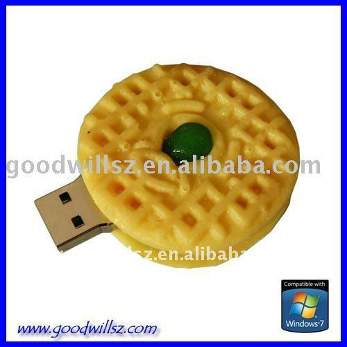 Promotion gift food shape USB Flash Drive