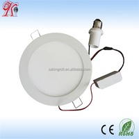 4inch cool white led downlight panel e27 9w ultra thin round led panle light