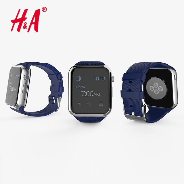 Bluetooth Smart Watch GD19 Clock Smartwatch sport watch Wristwatch For Apple iPhone Android Phone Camera PK GT08