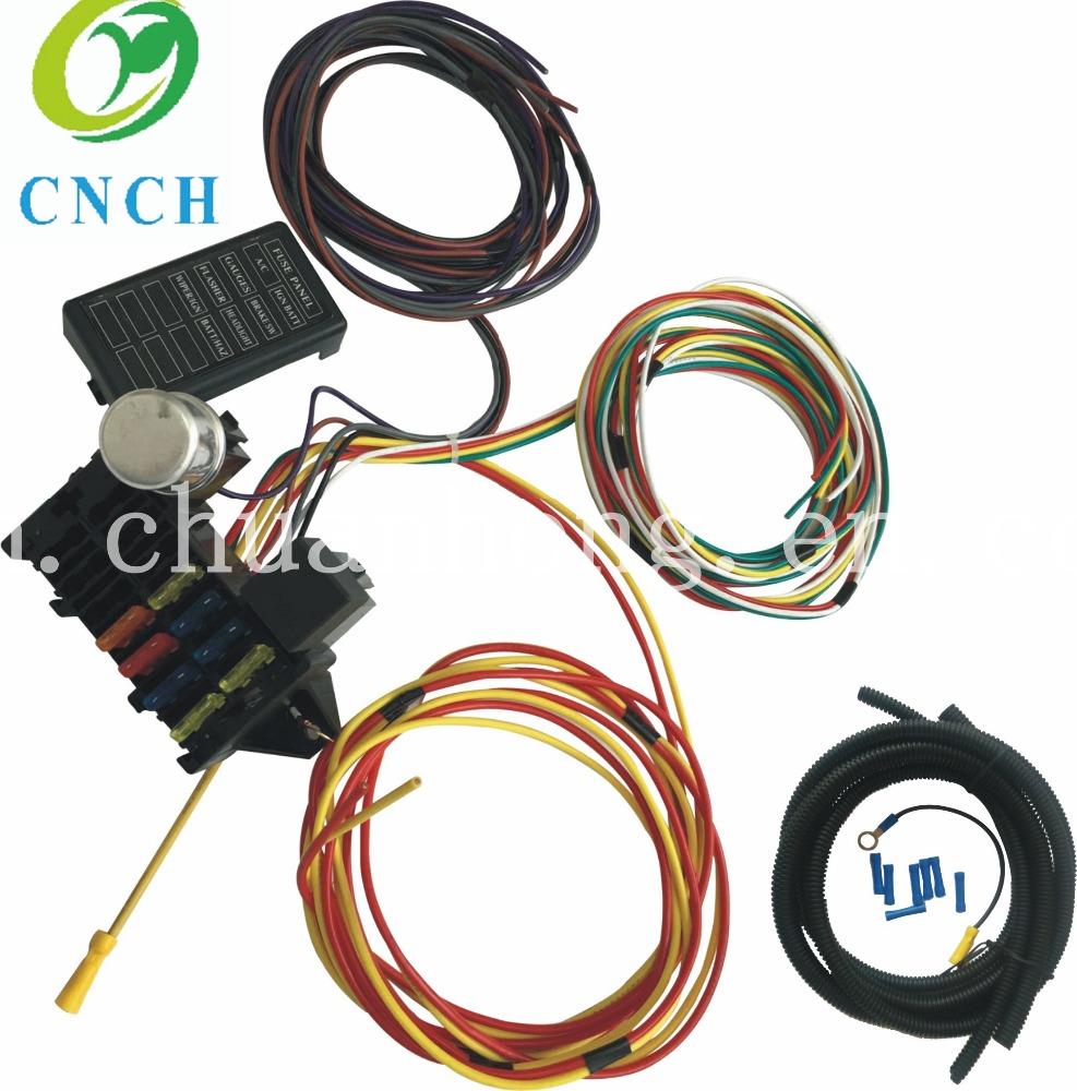 Universal Wiring Harness Diagram Cnch Diagrams Street Rod Venta Al Por Mayor Rat Rods Compre Online Los Mejores Sony 16 Pin