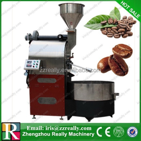 Commercial cocoa bean roasting machine industrial coffee bean roasting machine