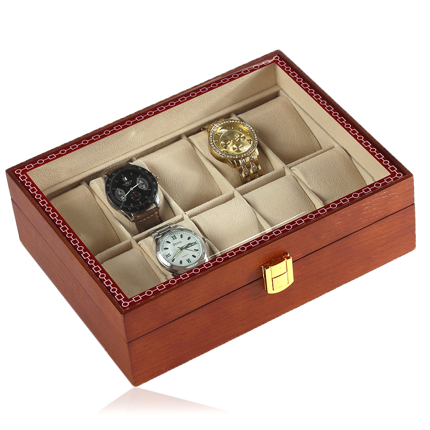 High Grade Wholesale Wooden Storage Display Custom <strong>Watch</strong> Box Packaging Luxury