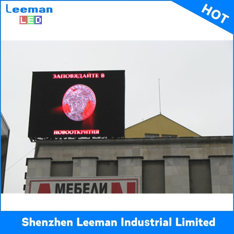 high technology waterproof outdoor advertising display screen p6 led signs for whole sale