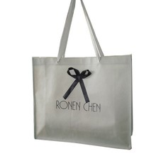 OEM eco-friendly handbag shopping bag promotion recyclable non-woven bag with LOGO