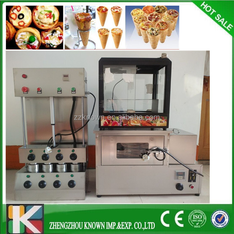 Full set electric maker machine pizza industrial pizza oven pizza cone machine for sale
