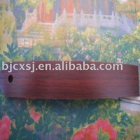 high quality red cherry wood grain plastic strip