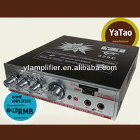 USB/SD car power soft amplifier YT-329C with remote control /mp3 player