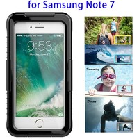 High Quality Mobile Phone Waterproof Case for Samsung Note 7 Case