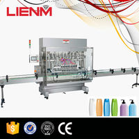 Automatic Straight Line Type Water Bottle Piston Filling Machine