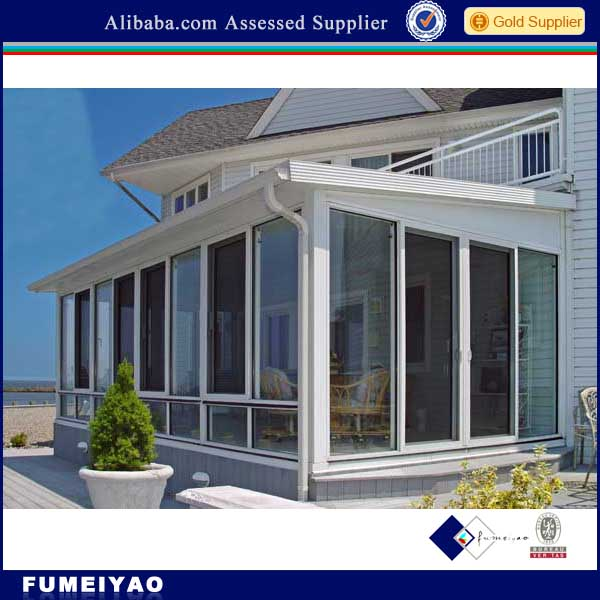 Commercial Aluminum glass house design