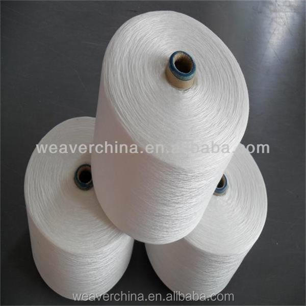 Weaving,Hand Knitting,Embroidery,Sewing Use and Bleached Pattern 100% polyester Yarn 40/2