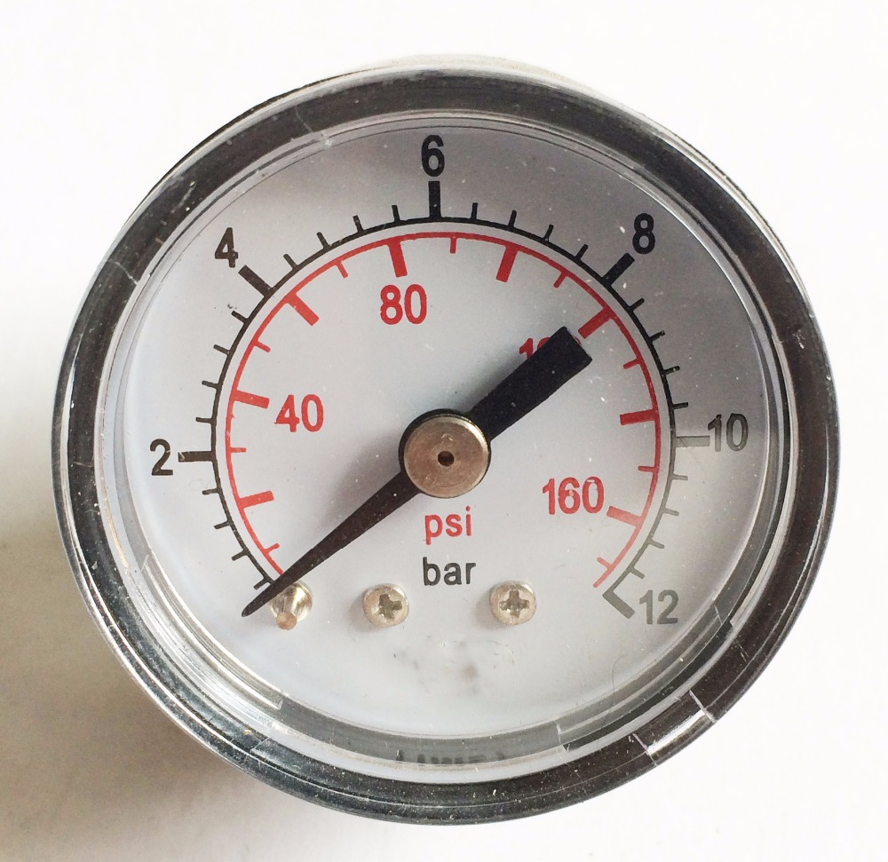 40mm Plastic Case Cheap Pressure Gauge For General Use