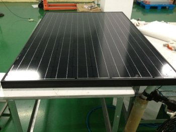 200W Mono Solar Panel with All black