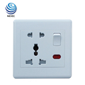 13A and 16A Multi function Electric switch and socket with Neon