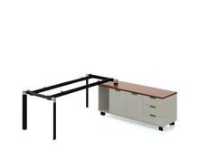 Factory manufactur standard office desk dimensions in china