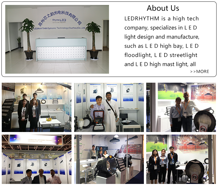 Ip66  Module Sports Lighting 600W  Led Flood Light Housing