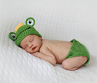 Baby Newborn Cap Toddler Infant Wool Handmade Knit Crochet Cosplay Set,Boys/Girls Animal Costume Hat Set Outfit Clothes