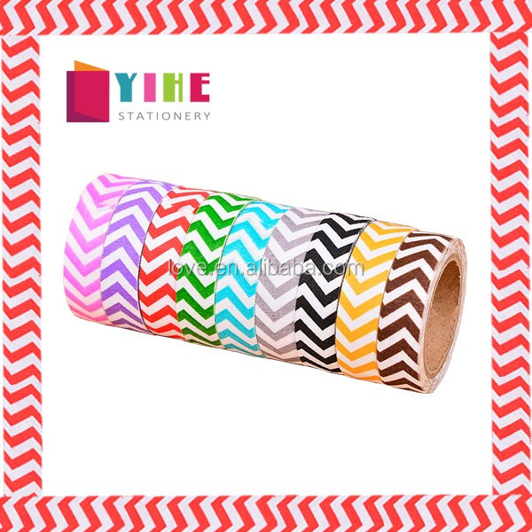 1.5cm*1m Chevron Decorative Planner Washi Tape