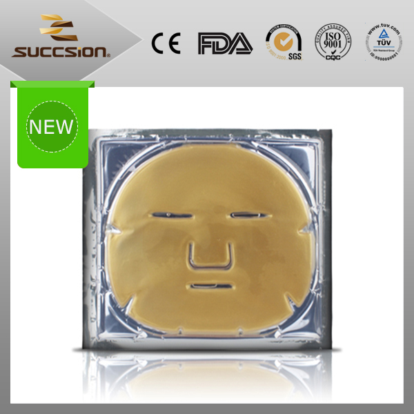 2016 new products 24k gold facial mask for anti-aging and anti-wrinkle