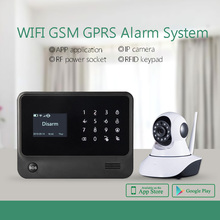 Download APP!android&IOS &google play store GSM/WIFI/GPRS/SMS anti theft alarm system,DIY WIFI home automation with relay output