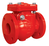 FM UL Approved 300PSI Flanged End Swing Check Valve