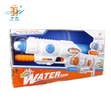 Hot selling summer outdoor game cheer water air gun toy for kids