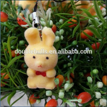 Chinese supplier custom making flocking vinyl toys for kids