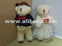 Mini Teddy Bear - Wedding Couple