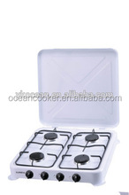 Efficient 4 Burners Built-in European Gas Stove With Cover M-004