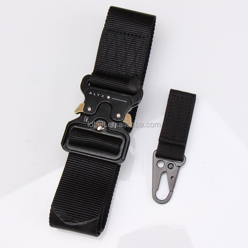 HOT Top quality outdoor use nylon belt and key holder set