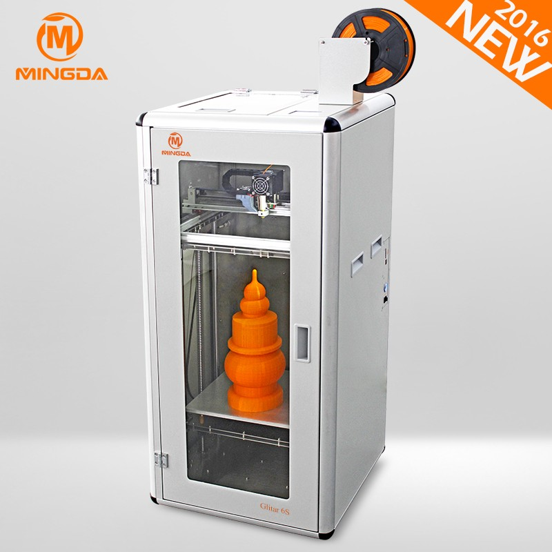 China Assessed manufacturer , 2017 newest FDM 3 d printer , MINGDA MD-6S 3d printer machine