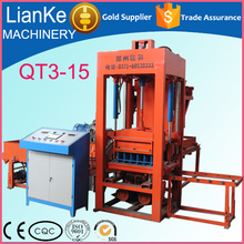 Made in China building construction machines for concrete blocks/building block making machine